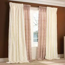 """Vorhang """"Clarisse"""", 1 Vorhang - Kostbare Seide mit handgelegten Permanent-Falten – die moderne Interpretation eines Klassikers."""
