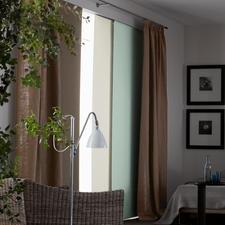 """Flächenvorhang """"Titan"""", 1 Flächenvorhang - 100% lichtundurchlässig - Ideal für Kinder-, Gäste- und Schlafzimmer."""
