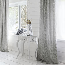 "Vorhang ""Sunderland"", 1 Vorhang - Ausdrucksstarkes 3D-Relief: In Jacquard-Technik gewebt."