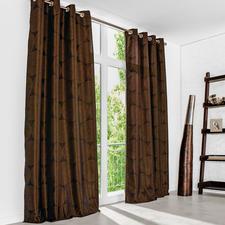"""Vorhang """"Circle"""", 1 Vorhang - Farbe: Kuper. Form: Grafisch. Stil: 70er. 3-facher Trend-Treffer 2016."""