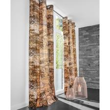 """Vorhang """"Broken Pieces"""", 1 Vorhang - Die Schönheit eines Jugendstil-Gemäldes. Und der modische Einfluss der 70er-Jahre."""