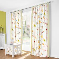 """Vorhang """"Birds"""", 1 Vorhang - Klar und reduziert statt trüb und überladen: Moderner Landhausstil 2016."""