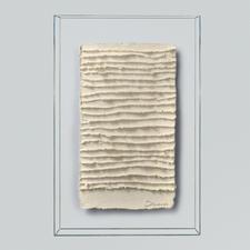 André Schweers – Weiße Faltung - Einzigartige Gelegenheit, ein Unikat André Schweers' zu diesem Preis zu erhalten. Maße: 39 x 58 cm