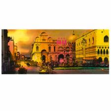 """Venedig"", DIBOND® hinter Acrylglas, 118 x 50 cm."
