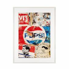"""""""Pepsi"""", gerahmt 73 x 96 cm."""