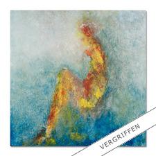 """Benno Werth: """"Die Sitzende"""" - Seit 2011 im Stadtmuseum Riesa – jetzt als handübermalte Edition bei Ihnen zu Hause. Prof. Benno Werth editiert erstmals einen Akt. 20 Exemplare. Exklusiv für Pro-Idee."""