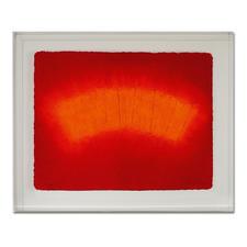 André Schweers – Cresté - Im charakteristischen Papiergussverfahren handgefertigt. 12 Exemplare in Acrylrahmung. Maße: 78 x 63 cm