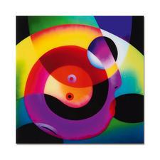 R. O. Schabbach – Circle of Love - Besitzer eines Schabbachs in allerbester Gesellschaft. Zweite Edition auf Acrylglas (die erste ist bereits ausverkauft). Nur 30 Exemplare. Maße: 40 x 40 cm