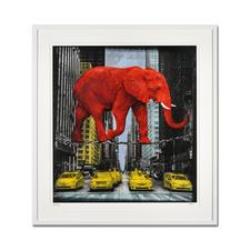 Lars Tunebo – High in New York - Lars Tunebos handcolorierte Unikatserie. Exklusiv bei Pro-Idee. 99 Exemplare. Maße: 61,5 x 67,5 cm