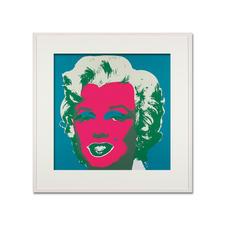 Andy Warhol – Marilyn blau - Sunday B. Morning Siebdruck auf 1,52 mm starkem Museumskarton. Maße: gerahmt 112 x 112 cm