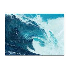 Ingo Wegerl – Die Welle - Handüberarbeitete Leinwandedition von Ingo Wegerl. Mit 5 mm dicker Firniss. Niedrig limitiert – in zwei Größen erhältlich. Maße: 85 x 60 cm