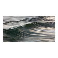 """Manolo Chrétiens: """"Dossen"""" - Manolo Chrétiens perfekte Wellen auf handgeschliffenen Aluminiumplatten. 30 Exemplare."""