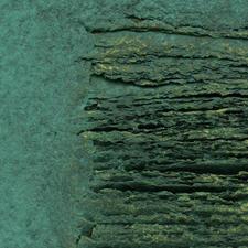 """Die """"Schrifttafel"""" beeindruckt durch ihre lineare Struktur und enorme dreidimensionale Wirkung."""