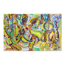 Leon Löwentraut – Carribean Flair - Leon Löwentraut: Investition in ein außergewöhnliches Talent. Vierte exklusive Pro-Idee Edition des Shootingstars der deutschen Kunstszene (die ersten drei waren nach kürzester Zeit ausverkauft). 100 Exemplare. Maße: 110 x 70 cm