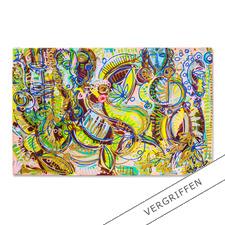 Leon Löwentraut – Carribean Flair - Leon Löwentraut: Investition in ein außergewöhnliches Talent. Vierte exklusive Pro-Idee Edition des Shootingstars der deutschen Kunstszene (die ersten drei waren nach kürzester Zeit ausverkauft). 100 Exemplare.