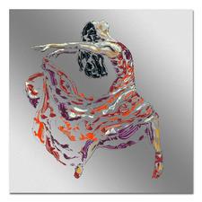 Paul La Poutré – Wild - Paul La Poutré: Unikatserie – 100 % von Hand auf Edelstahl gemalt. (Die erste war nach wenigen Tagen ausverkauft.) 24 Exemplare. Exklusiv bei Pro-Idee. Maße: 100 x 100 cm