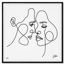 Andrés Ribón Troconis – One breath away - Andrés Ribón Troconis: Der Geheimtipp aus Südamerika. Zweite Pro-Idee Edition (die erste ist bereits ausverkauft). 30 Exemplare. Maße: gerahmt 83 x 83 cm