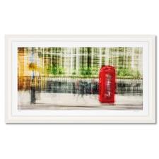 """Jacob Gils – London #28 - Impressionistisches Gemälde? Oder modernste Fotografie? Jacob Gils' Edition """"London #28"""" aus über 100 Einzelaufnahmen. Exklusiv bei Pro-Idee. 20 Exemplare. Maße: gerahmt 132 x 78 cm"""