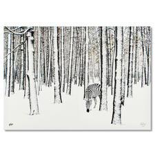 Robert Jahns – Snow Zebra - Robert Jahns: Einer der populärsten Instagram-Stars. 40.000 Likes! Snow Zebra – jetzt als Leinwand-Edition. Exklusiv bei Pro-Idee. Maße: 100 x 70 cm