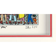 James Rizzi – True love for two - That means me and you