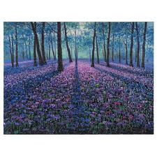 Pei Lian Zhi – Original  Spring Forest - Pei Lian Zhi: In mehr als 200 Sammlungen vertreten.  Jetzt auch in Ihrer? Einzigartiges Ölgemälde mit bis zu 1 cm hohem Farbauftrag. Maße: 120 x 90 cm.
