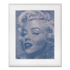Kim Dong-Yoo – Marilyn - Für das Original-Gemälde zu dieser Grafik wurden 1.369 Kennedy-Portraits einzeln mit Ölfarbe auf Leinwand gemalt.