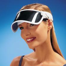 Sonnenvisier - Schützt Sie vor 99 % aller UV-Strahlen.