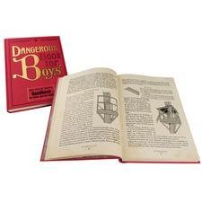 """""""Dangerous Book for Boys"""", deutsche Ausgabe - Alle Geheimnisse für Vater und Sohn."""