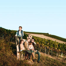 Weinmacher Martin Korrell mit Familie