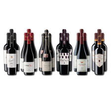Weinsammlung - Die kleine Rotwein-Sammlung Frühjahr 2020, 24 Flaschen - Wenn Sie einen kleinen, gut gewählten Weinvorrat anlegen möchten, ist dies jetzt besonders leicht.