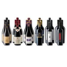 Weinsammlung - Die kleine Rotwein-Sammlung für anspruchsvolle Genießer Frühjahr 2020, 24 Flaschen - Wenn Sie einen kleinen, gut gewählten Weinvorrat anlegen möchten, ist dies jetzt besonders leicht.