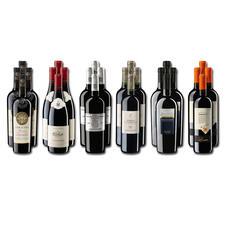 Weinsammlung - Die kleine Rotwein-Sammlung für anspruchsvolle Genießer Winter 2020, 24 Flaschen - Wenn Sie einen kleinen, gut gewählten Weinvorrat anlegen möchten, ist dies jetzt besonders leicht.