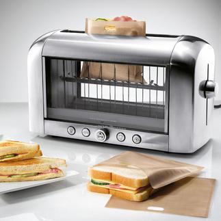ToastaBags® Saftig gefüllte Sandwich-Snacks. In 3 Minuten fertig. Einfach in Ihrem Toaster.