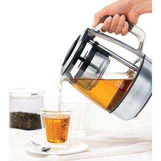 Gourmet Tee-Automat Bereitet die unterschiedlichsten Tee-Spezialitäten auf den Punkt perfekt. Vollautomatisch.