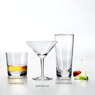 Bar-Serie Charles Schumann Von Deutschlands berühmtester Bar-Ikone mitentwickelt. Klassische Formen. Feinstes Tritan®-Kristallglas.