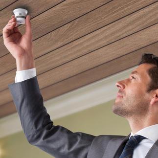 Rauch- oder Hitzemelder Invisible 10 Jahre Der wohl kleinste und eleganteste Rauchmelder der Welt. Jetzt mit 10-Jahres-Funktion ohne Batteriewechsel.