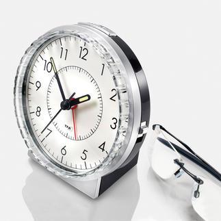 """Analog-Wecker """"Glockenton"""" Leichter einstellbar. Lauterer Weckton. Leiseres Uhrwerk."""
