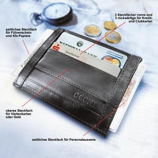 OCONI-Dokumentenbörse Die Dokumentenbörse ist kaum größer als eine Zigarettenschachtel.