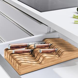 Robert Welch® Messerablage Verwahrt bis zu 20 (!) Messer verschiedenster Form und Größe (statt oft nur 5-6).