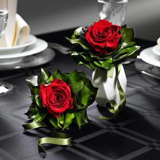 Duftendes Rosen-Bouquet Echte Rosen – bis zu 2 Jahre wie frisch geschnitten. Dauerhaft schön – ohne Wasser, ohne Pflege.