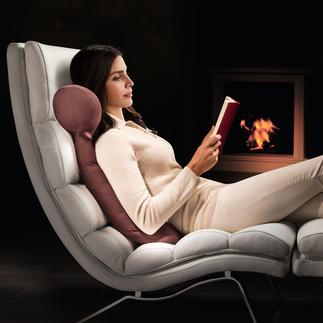 HEFEL Lesekissen Endlich: das perfekte Kissen zum Lesen und Fernsehen. Fantastisch komfortable 2-Kammer-Konstruktion.