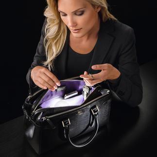 SOI Handtaschen-Licht Weltneuheit: das erste automatische, energieeffiziente Handtaschen-Licht. Endlich alles griffbereit.