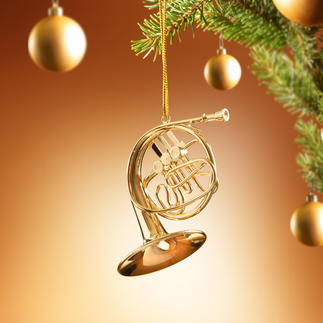 Christmas-Ornaments Kunstvoll handgefertigte Instrumente stimmen Ihren Christbaum festlich. Aufwändig originalgetreu gearbeitet.