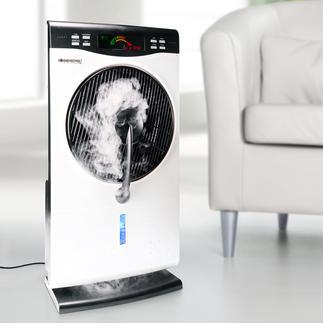 Air Fresh Nebelventilator Das ultimative Klimawunder: kühlt, erfrischt, reinigt und befeuchtet die Luft.