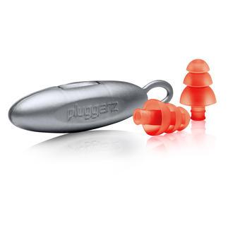 Lamellen-Ohrstöpsel, Paar Filtern Geräusche differenziert – statt akustisch zu isolieren.