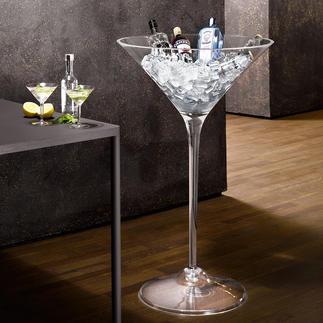 XXL-Cocktail-Glas Viel bestaunt als Obstschale, für Blumen & mehr. Perfekt auch als Getränkekühler – der Clou für Gäste und Feste.