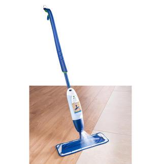 Bona Spray-Mopp Spart Aufwand und Zeit. Sprühen, kurz wischen – sauber.