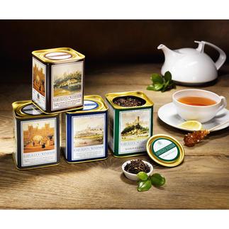Darvilles of Windsor Tee, 4 Dosen à 125 g Die erlesenen Teegenüsse. Vom Hoflieferanten der Queen. Von Darvilles of Windsor, seit fast 70 Jahren im Dienst des Königshauses.