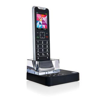 Motorola Design-Telefon IT.6T mit Anrufbeantworter Das wohl flachste und edelste Schnurlos-Telefon der Welt.