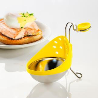 Eier-Pochierer, 2er-Set Einfach wie nie: Pochierte Eier, perfekt gelungen. Höhenverstellbar, je nach Topfgröße und Wasserstand.